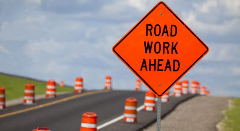 Road Construction (Stock Photo)
