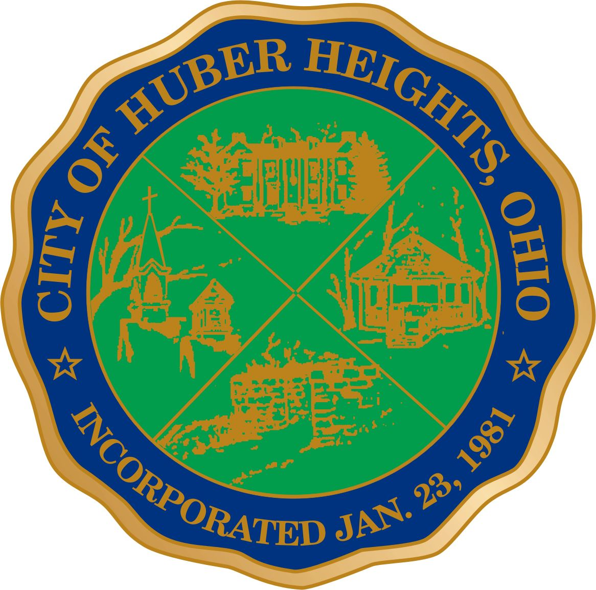Huber Heights City Seal